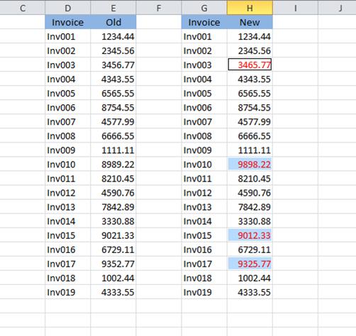 compare two columns 3
